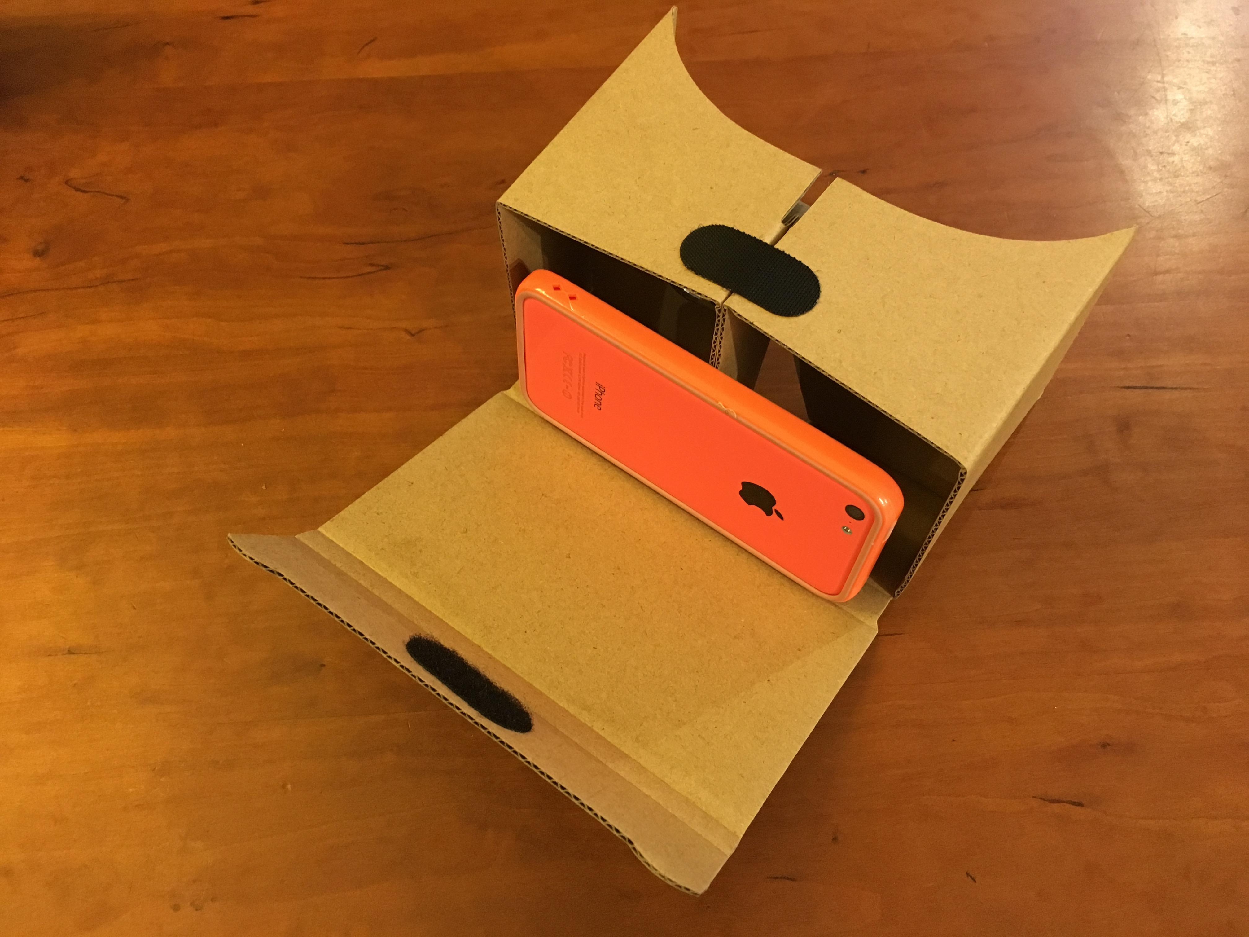 VR用ヘッドマウントディスプレイ