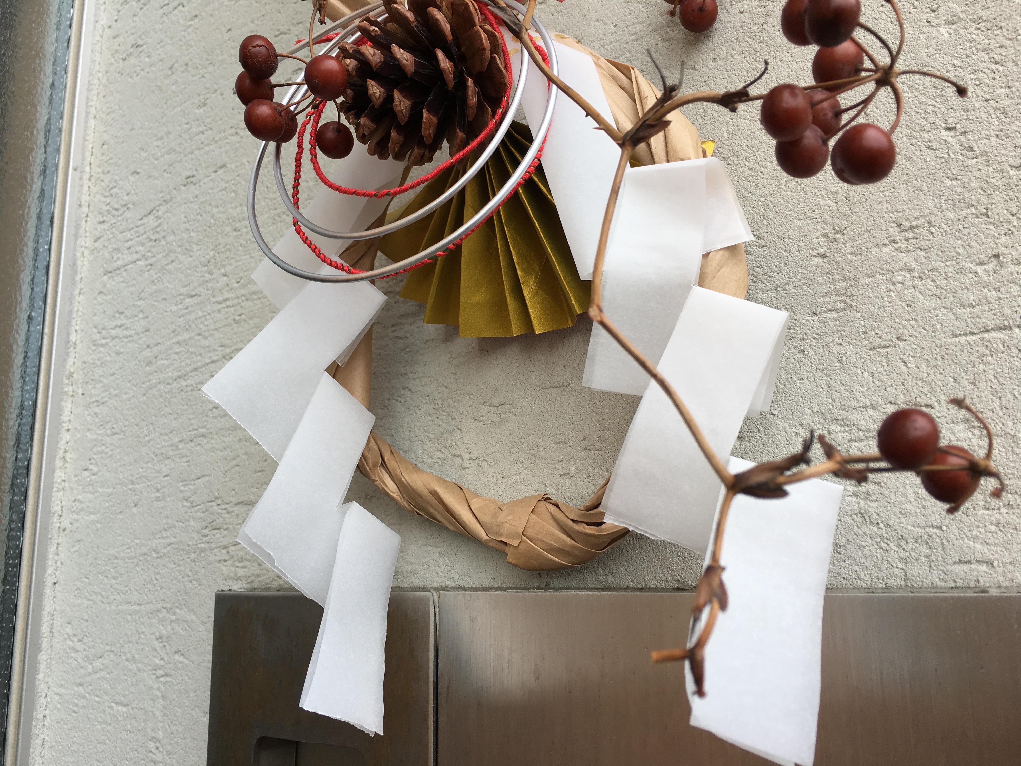 お正月の伝統文化・しめ飾りをDIYで!