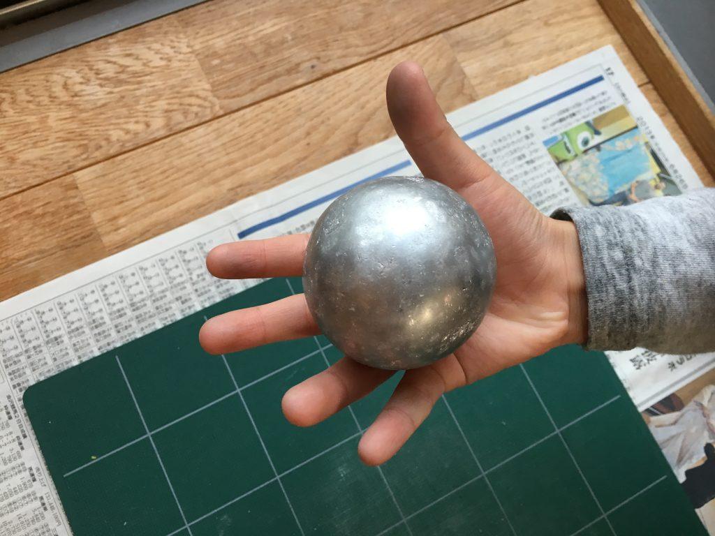 アルミホイル球