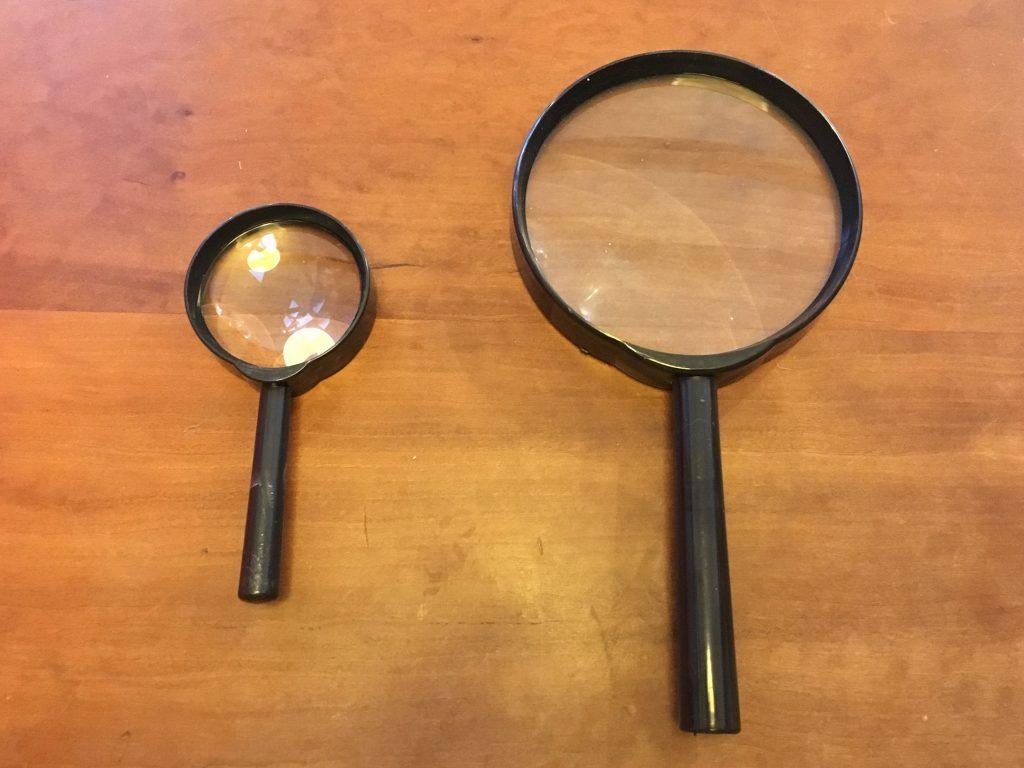 虫眼鏡(ルーペ)